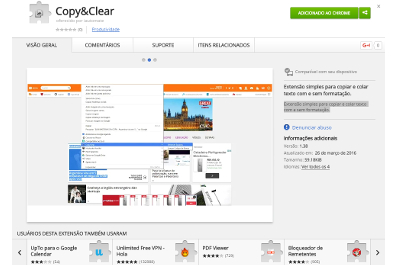 Chrome Extension: Copy&Clear
